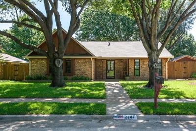 Lewisville Single Family Home For Sale: 2147 Robin Road