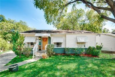 Dallas Single Family Home Active Option Contract: 11830 Flamingo Lane