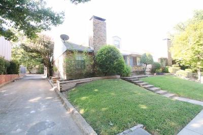 Dallas Townhouse For Sale: 1824 Abshire Lane
