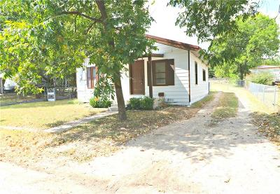 Stephenville TX Single Family Home For Sale: $89,000