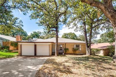 Arlington TX Single Family Home For Sale: $169,000