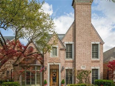 Dallas Single Family Home For Sale: 7943 Caruth Court