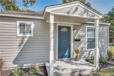 Mckinney Single Family Home For Sale: 604 N Benge Street