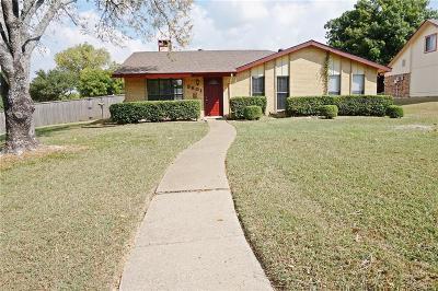 Plano TX Single Family Home Active Option Contract: $200,000