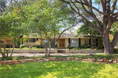 Dallas, Fort Worth Single Family Home For Sale: 6821 Dartbrook Drive