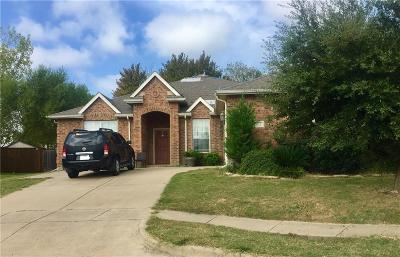 Wylie Single Family Home Active Contingent: 1212 Iron Horse Street
