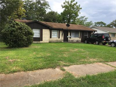 Garland Single Family Home Active Option Contract: 706 Moonlight Drive