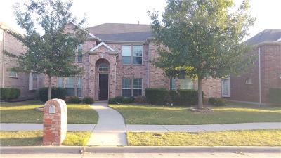 Frisco Single Family Home For Sale: 11403 Gatesville Drive