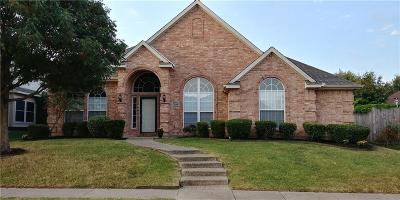 Allen Single Family Home For Sale: 1314 Meredith Drive