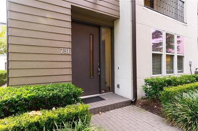 Dallas Townhouse For Sale: 4211 N Rawlins Street #731