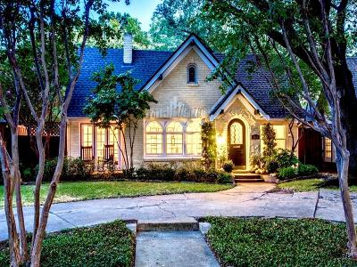 Dallas Single Family Home For Sale: 5510 Ridgedale Avenue