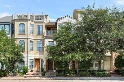 Dallas Townhouse For Sale: 1316 Adair Street