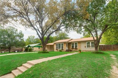 Richland Hills Single Family Home Active Option Contract: 6833 Hardisty Street