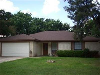Mansfield Single Family Home Active Option Contract: 1033 Almond Drive