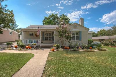 Fort Worth Single Family Home For Sale: 6417 Garland Avenue
