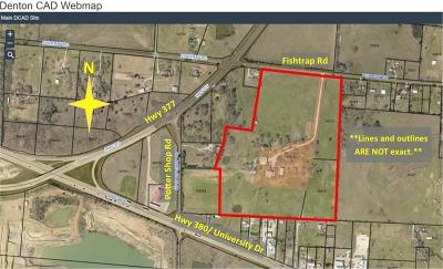 Cross Roads Residential Lots & Land Active Option Contract: 44 Fishtrap Road