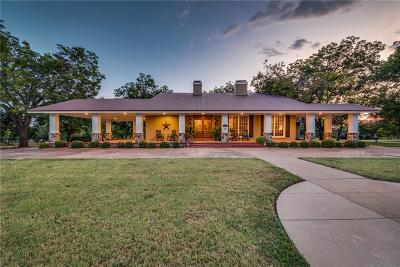 Waxahachie Single Family Home Active Contingent: 1117 W Jefferson Street