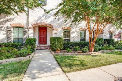 Mckinney Townhouse For Sale: 1917 Desoto Drive