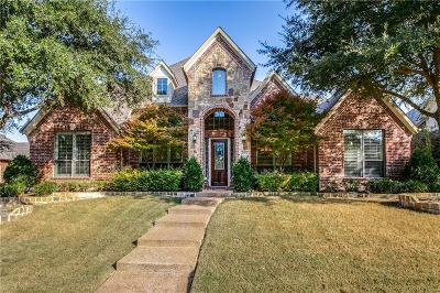 Rockwall Single Family Home Active Option Contract: 4777 Secret Cove