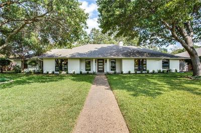 Dallas, Addison Single Family Home For Sale: 4107 Deep Valley Drive
