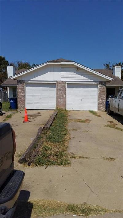 Kennedale Multi Family Home Active Option Contract: 316 Spring Branch Lane