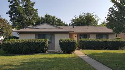 Carrollton Single Family Home For Sale: 2124 Travis Drive
