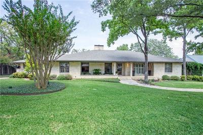 Dallas, Fort Worth Single Family Home For Sale: 6617 Ridgeview Circle