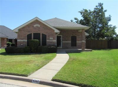 Abilene Single Family Home Active Option Contract: 4347 Garden Grove Lane