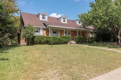 Dallas Single Family Home For Sale: 1837 Wonderlight Lane