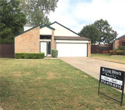 Mesquite Single Family Home For Sale: 1629 Lemonwood Circle