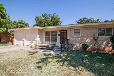 Abilene Single Family Home For Sale: 2157 Glenwood Drive