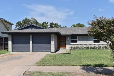 Garland Single Family Home Active Option Contract: 4625 Bethany Drive
