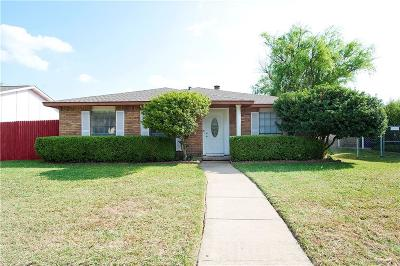 Garland Single Family Home Active Option Contract: 2934 Red Gum Road