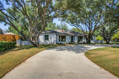 Dallas, Fort Worth Single Family Home For Sale: 4949 Forest Lane
