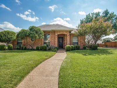 Plano Single Family Home Active Option Contract: 1728 Huron Trail