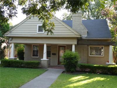 Dallas Single Family Home For Sale: 5219 Parkland Avenue