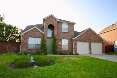 Coppell Single Family Home For Sale: 222 Lairds Drive