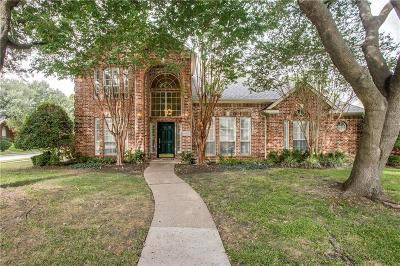 Plano Single Family Home Active Option Contract: 6101 Winstead Drive
