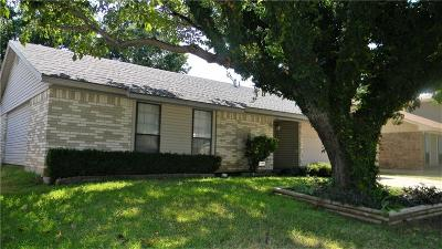 Lewisville Single Family Home Active Option Contract: 508 Price Drive