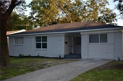 Mesquite Single Family Home For Sale: 3408 Statler Drive
