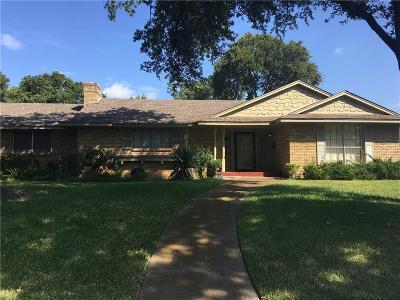 Dallas Single Family Home For Sale: 1535 Acapulco Drive