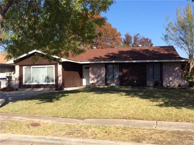 Single Family Home For Sale: 1905 Whitney Drive