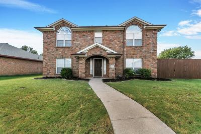 Wylie Single Family Home For Sale: 1102 Hall Drive