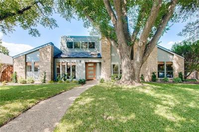 Plano Single Family Home Active Option Contract: 1913 Cherbourg Drive