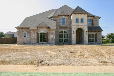 Prosper Single Family Home For Sale: 1620 Hidden Bluff Court