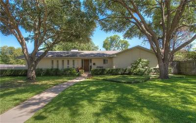 Fort Worth Single Family Home For Sale: 4309 Sarita Drive