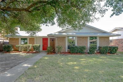 Garland Single Family Home Active Option Contract: 5222 Daytona Drive