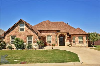 Abilene Single Family Home For Sale: 3802 Hill Country Drive