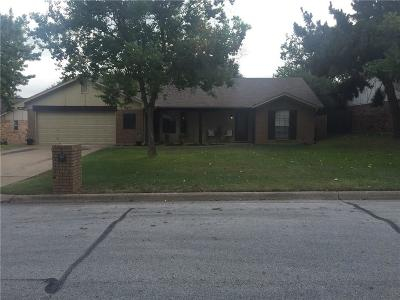 Grapevine Single Family Home Active Option Contract: 2948 Kimberly Drive