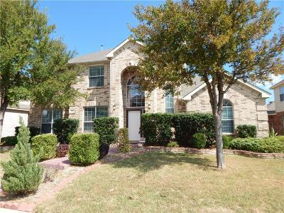Allen Single Family Home For Sale: 202 Del Cano Drive